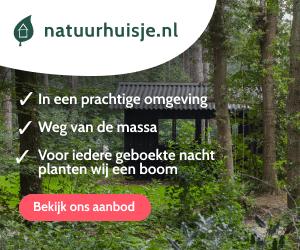 natuurhuisje in de natuur banner